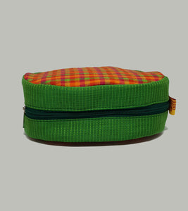 Green Round Shaped Utility Pouch