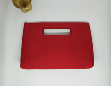 Load image into Gallery viewer, Red Painted Inside Handle Bag