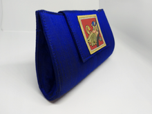 Load image into Gallery viewer, Royal Blue Tanjore