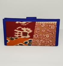 Load image into Gallery viewer, Royal Blue Bordered Wallet