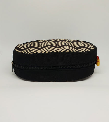 Black Round Shaped Utility Pouch