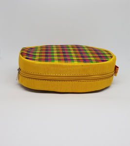 Yellow Round Shaped Utility Pouch