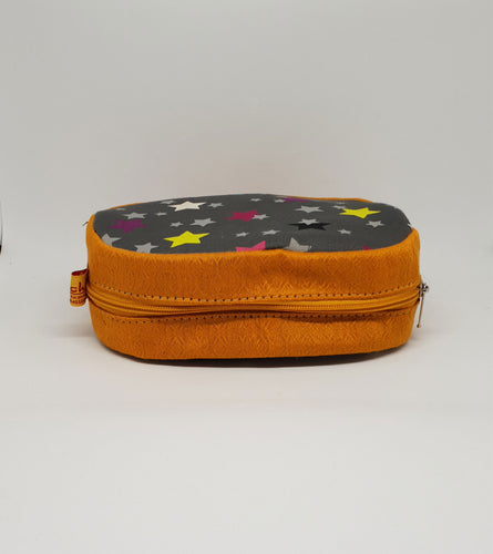 Golden Round Shaped Utility Pouch