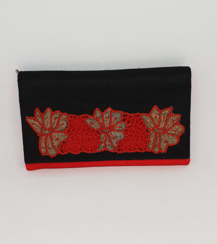 Red and Black Cutwork Envelope