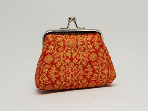 Orange Framed Coin Purse