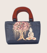 Load image into Gallery viewer, Buddha Painted Wooden Handle