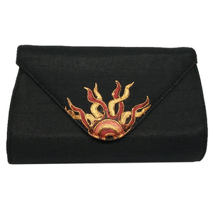 Black Painted Clutch
