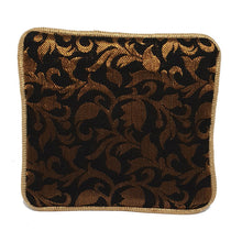 Load image into Gallery viewer, Black Brocade Coin Purse