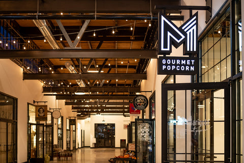 Marigold Gourmet Popcorn is located inside of L&L Marketplace in Nashville, Tennessee.
