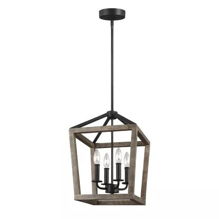 Feiss Gannet 4-Lamp Mini Pendant Light  (Model: F31904WOWAF)