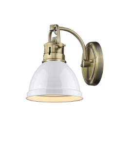 Beachcrest Home Bodalla 1-Light Armed Sconce BCMH4979