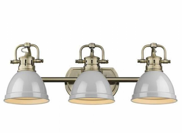 Beachcrest Home Morgane 3-Light Metal Vanity Light (Model:  BCMH4981)