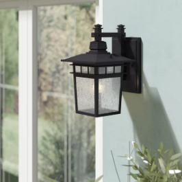 Beachcrest Home Valeri Outdoor Wall Lantern (Model:  BCHH9430)