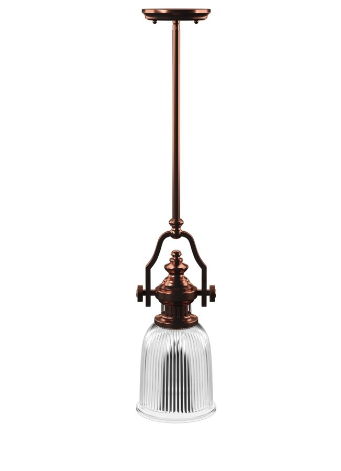Birch Lane Erico 1-Light Cone Pendant Finish: Oil-Rubbed Bronze (Model:  BL6987)