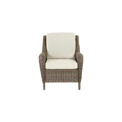 Cambridge Grey Resin Wicker Patio Chair