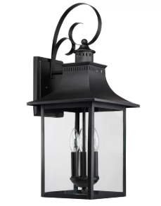 Caswell 3-Light Outdoor Wall Lantern