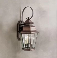 Darby Home Co Bigley 3-Light  Outdoor Wall Lantern