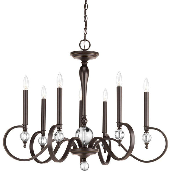 Esteem Collections by Progress 7-Lamp Chandelier Progress Lighting