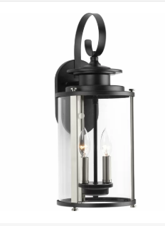 Evgenia 2 Light Outdoor Wall Lantern (Model: 1899691)