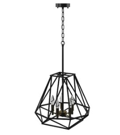 Mercury Row Sansa 5-Light Geometric Chandelier (Model:  VARK5413)