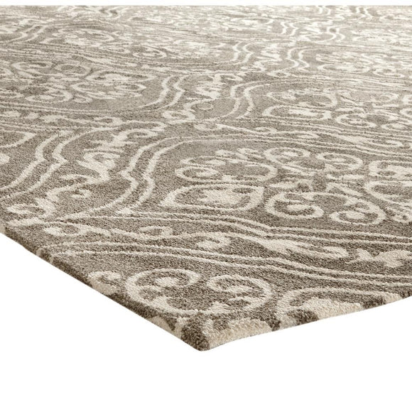 Arden Mocha 5 ft. x 8 ft. Jacquard Area Rug. (Model: 98495)