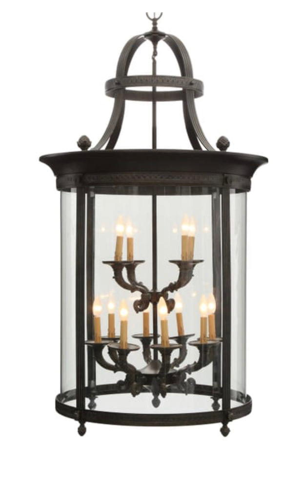 World Imports Chatham 12-Light French Country Influence Foyer Lantern (Model: 1612-63)