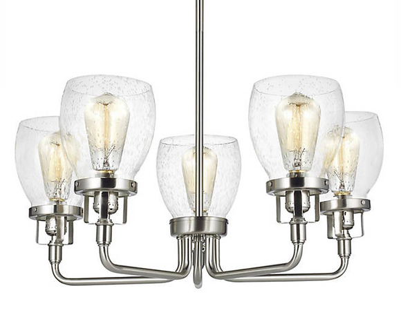 Generation Lighting 3214505-962 Belton Chandelier, 5-Light