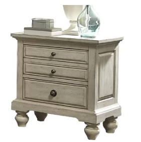 Lark Manor Pholimena 2 Drawer Nightstand (Model:  LRKM2594)