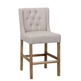 Lark Manor Sixtine Bar & Counter Stool Seat Height:  Bar Stool 30
