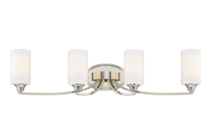 Latitude Run Edgebrooke 4-Light Vanity Light LATR7101