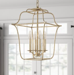 Laurel Foundry Modern Farmhouse Chloe 4-Light Lantern Pendant