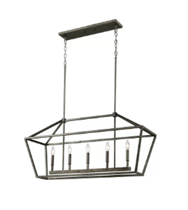 Laurel Foundry Modern Farmhouse Freemont 5-Light Kitchen Island Pendant
