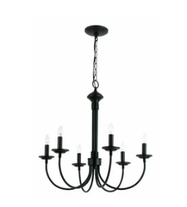 Laurel Foundry Modern Farmhouse Shaylee 6-Light Candle Style Chandelier  (Model:  LFMF1606)