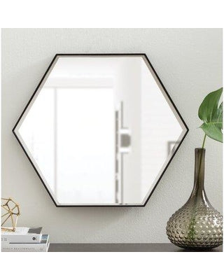 Mercury Row High Littleton Wood Wall Mirror 35