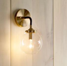 Modern Rustic Interiors Shontelle 1-Light Wall Sconce (Model:  LGLY3668)