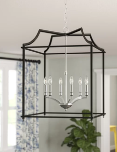 Darby Home Co Bartley 6-Light Foyer Pendant DABY5071