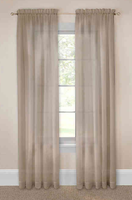 Pairs To Go Victoria Voile 118-Inch by 95-Inch Window Panel Pair