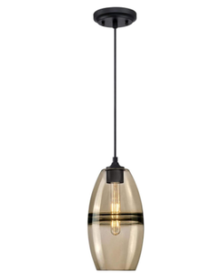 Westinghouse Lighting 6366400 One-Light Indoor Mini Pendant Light