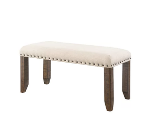 Three Posts Ismay Upholstered Bench (Model: LRFY2507)