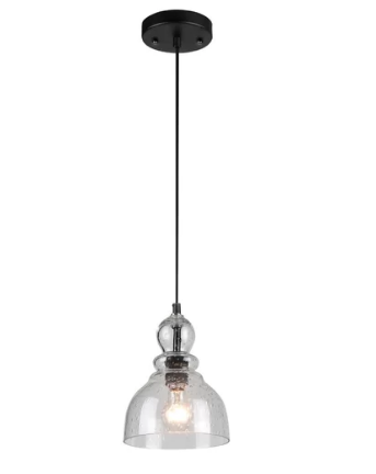 Trent Austin Design Wyckhoff 1-light Bell Pendant (Model:  TRNT5287)