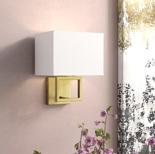 Willa Arlo Interiors Boykin 1-Light Flush Mount (Model: WRLO7297)