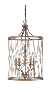 Minka Lavery Willa Arlo Interiors Cece 5-Light Foyer Lantern Pendant (Model:  WRLO6285)