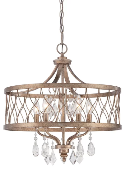 Willa Arlo Interiors Cece 5-Light Chandelier (Model:  WRLO6391)