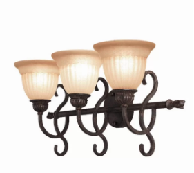 Woodbridge Lighting Fairhaven 3-Light Vanity Light (Model:  XWB1685)