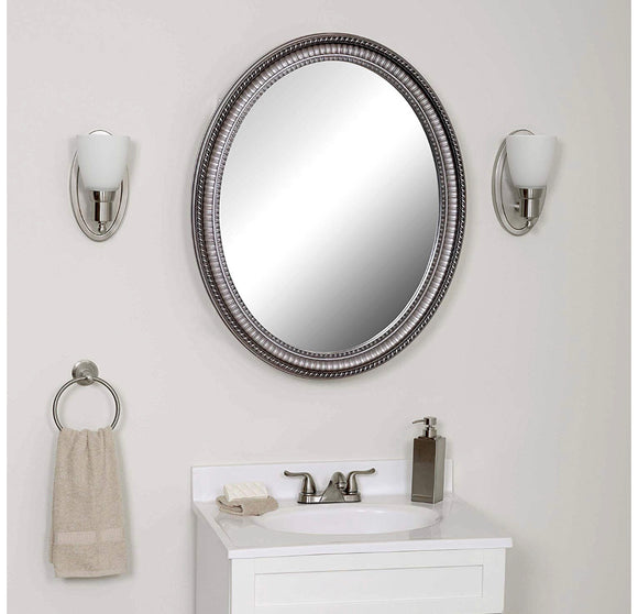 Zenith Oval Frame Mirrored Medicine Cabinet (Model: PMV2532)