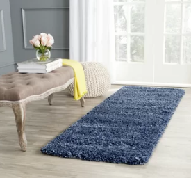 Zipcode Design Starr Hill Navy Area Rug Runner 2'3