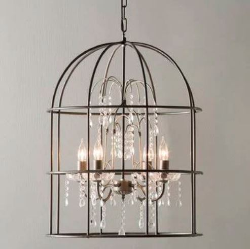 Lark Manor Argens 4-Light Lantern Pendant (Model: LRKM1439)