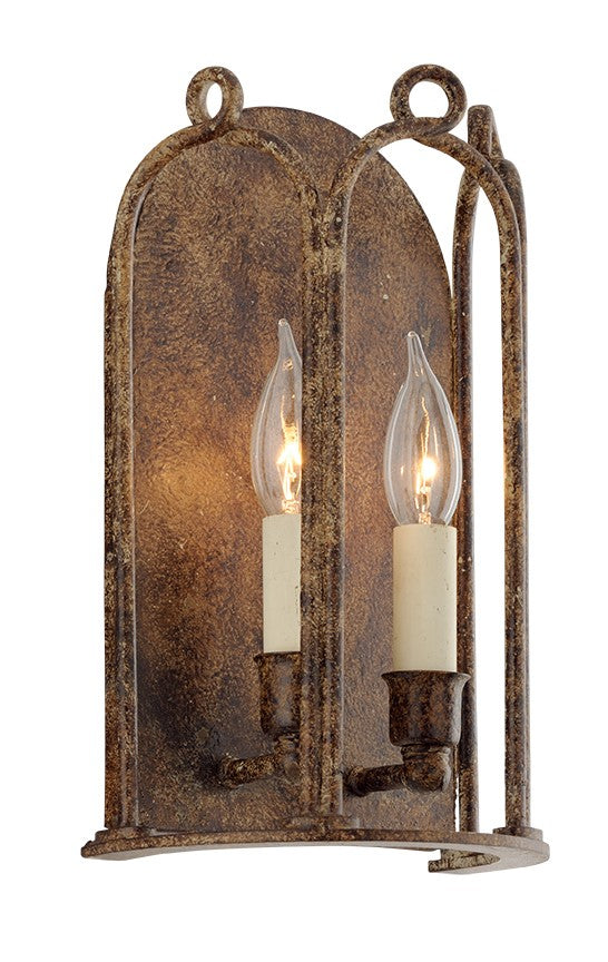 Troy Lighting Carousel 2-Light Wall Sconce in Provence Bronze (Model:  B4832)