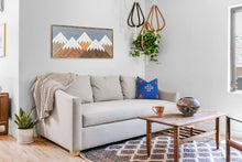 "Mountain Wood Wall Art - 22""x50"""