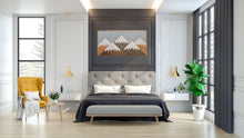 "Mountain Wood Wall Art - 18""x32"""